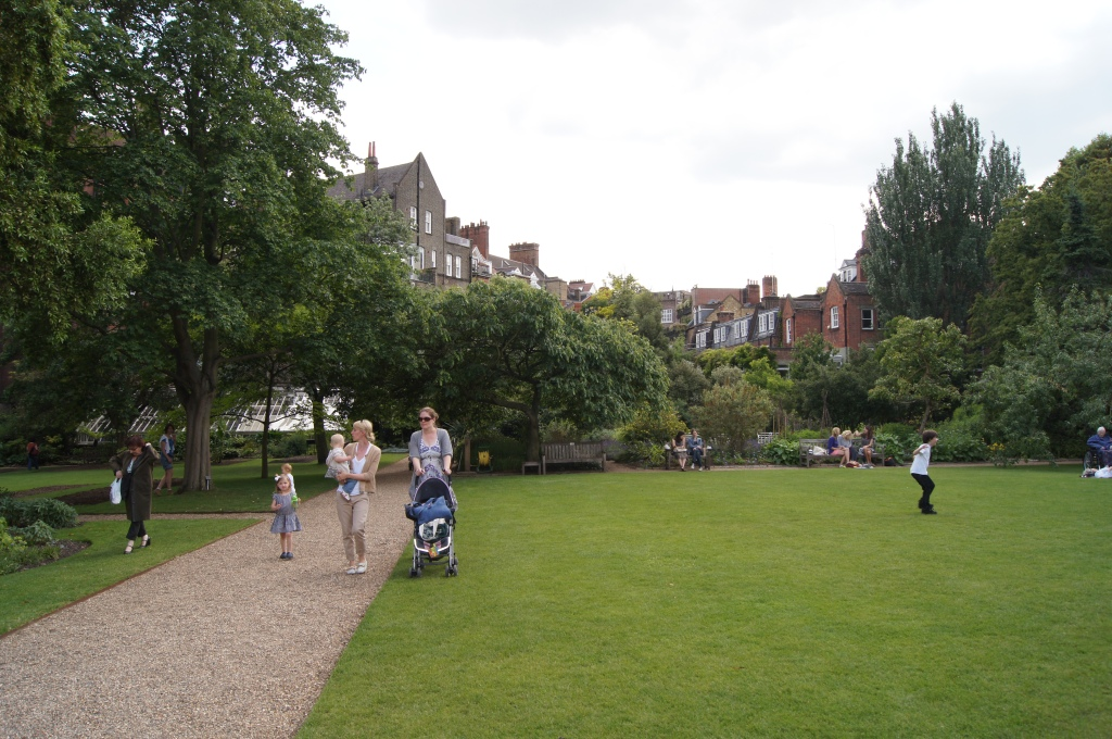 Out and About in Chelsea Gardens London